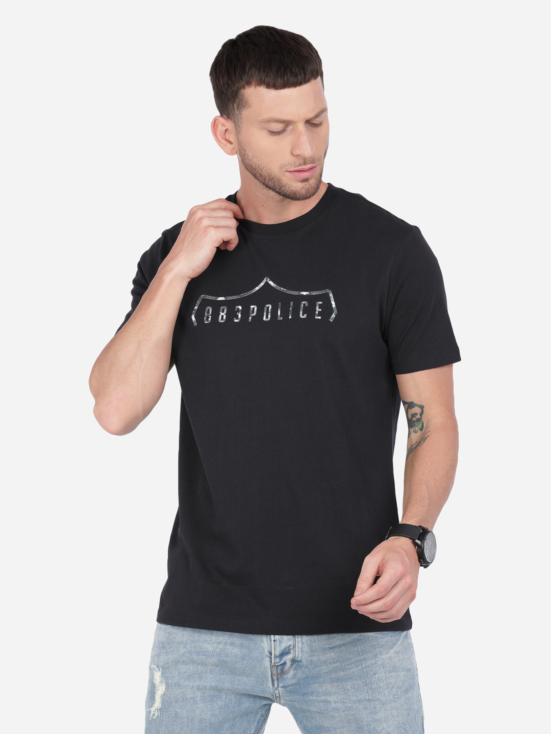 883 Police | 883 Police Milkyway India T-shirt