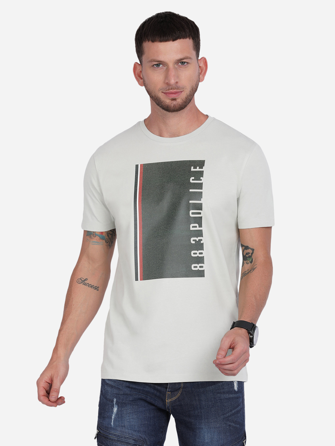 883 Police | 883 Police Toll India T-shirt