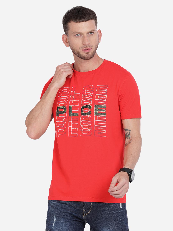 883 Police | 883 Police Fluorocrack T-shirt