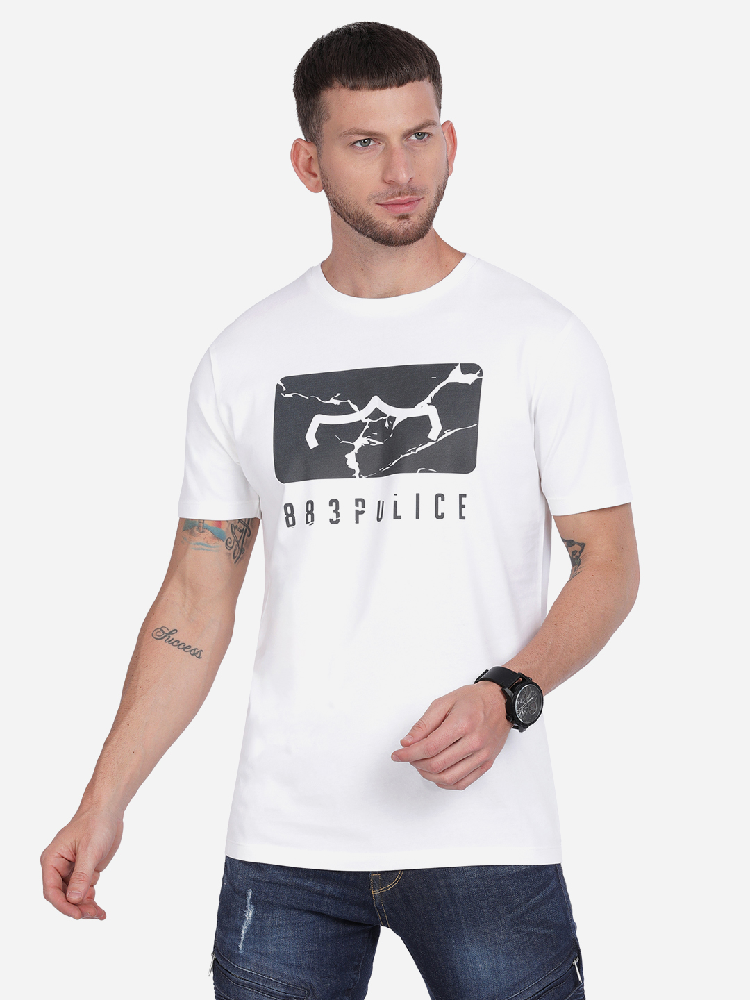 883 Police | 883 Police Willet India T-shirt