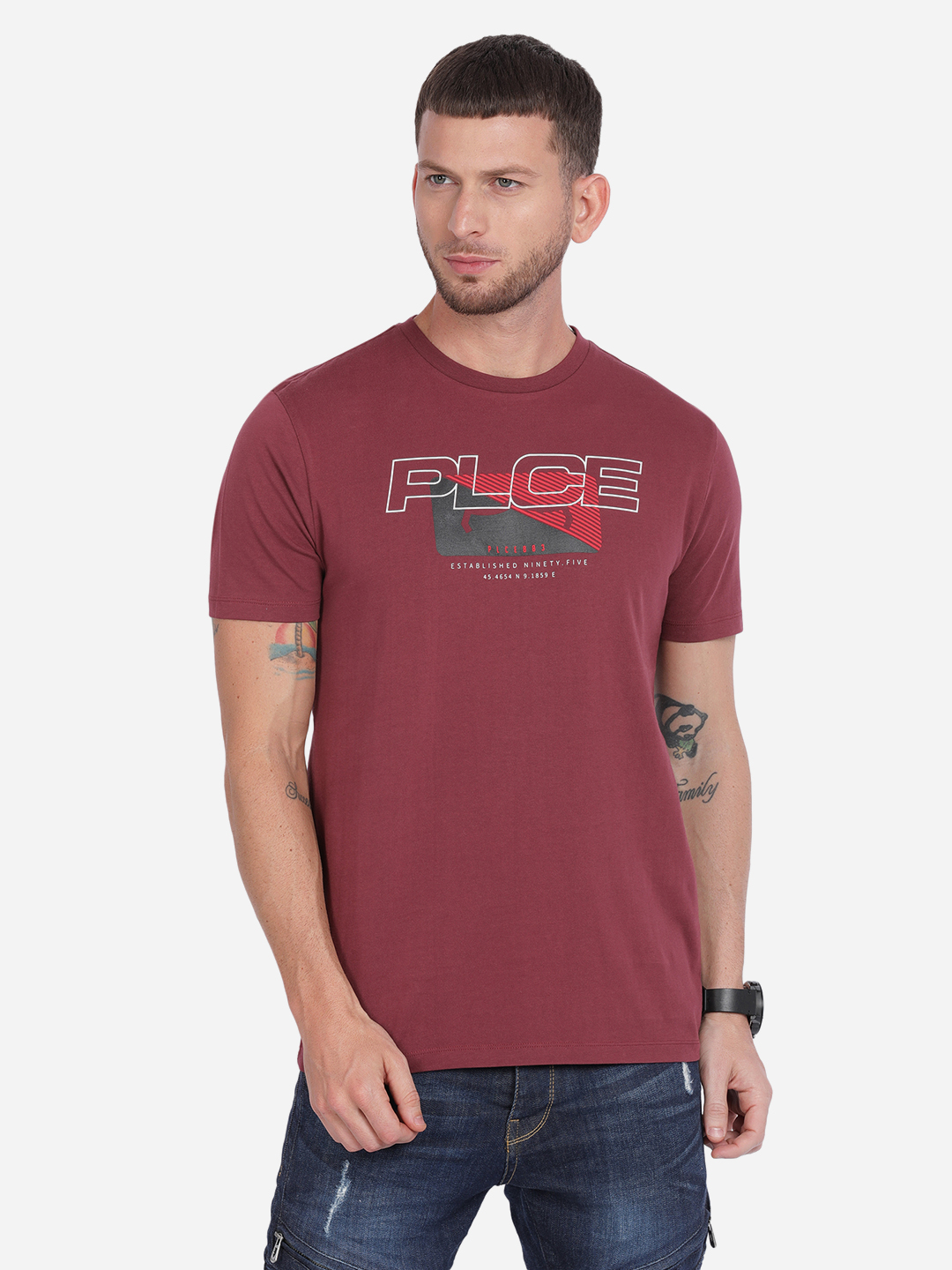 883 Police | 883 Police Stamp T-shirt