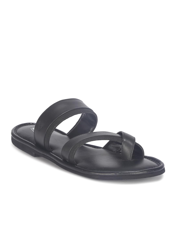 V8 | V8 Men Open Sandal-Black