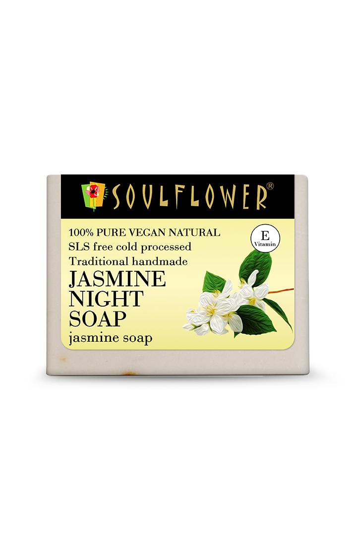 Soulflower | Jasmine Night Soap - 150gm