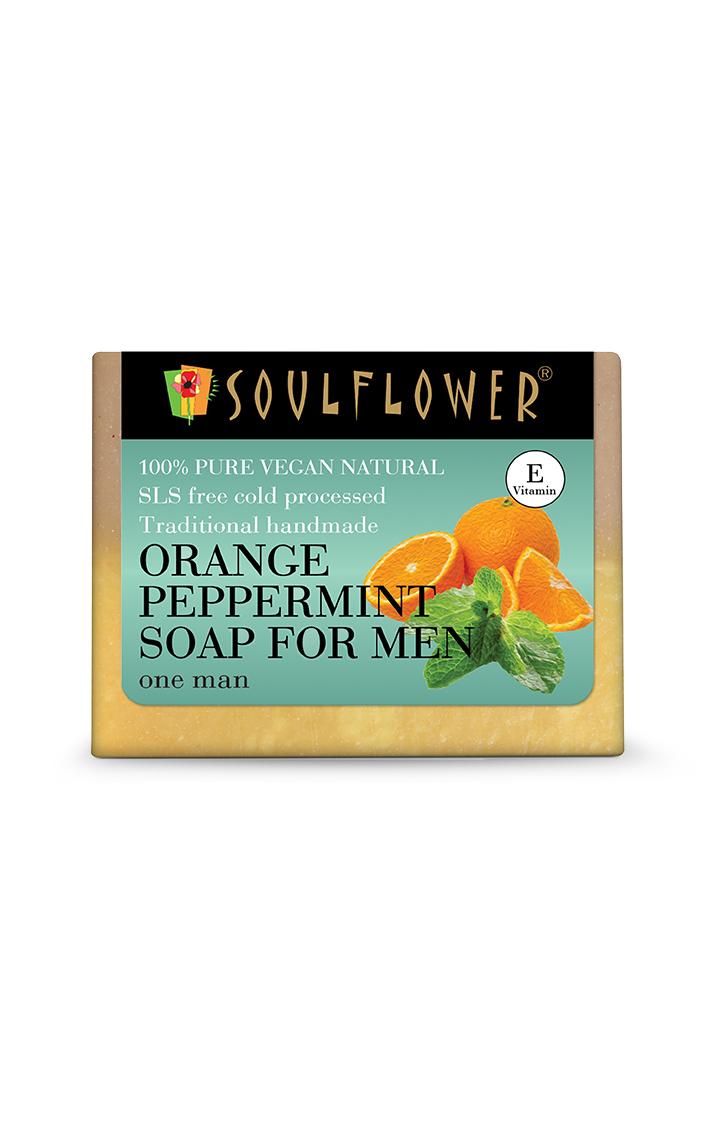 Soulflower   Orange Peppermint Soap - 150gm