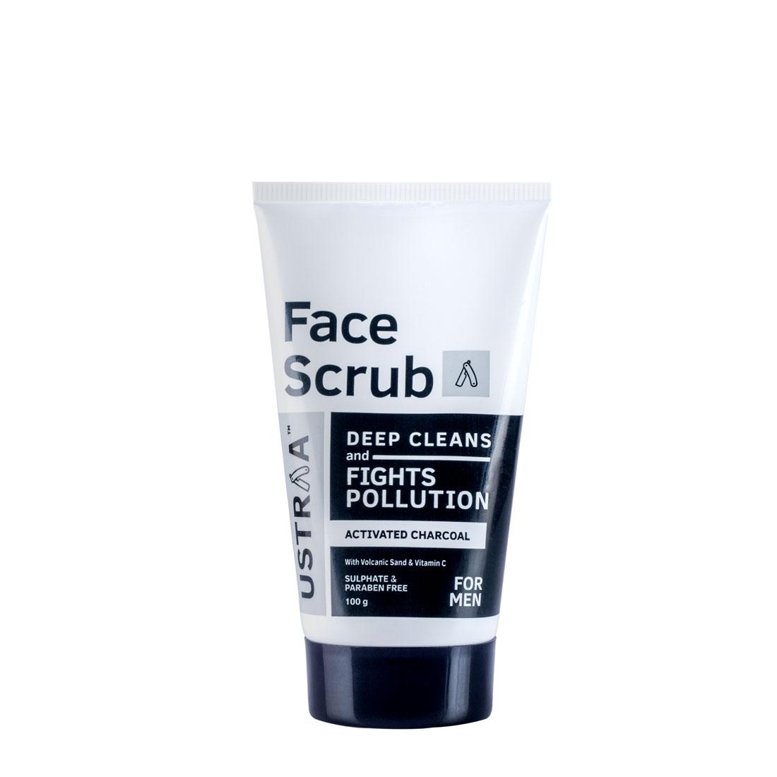 Ustraa | Face Scrub - Anti Pollution 100gm