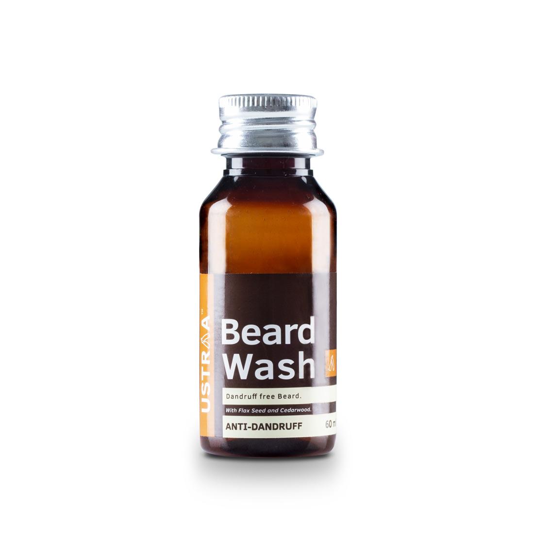 Ustraa | Beard Wash - Anti Dandruff - 60ml