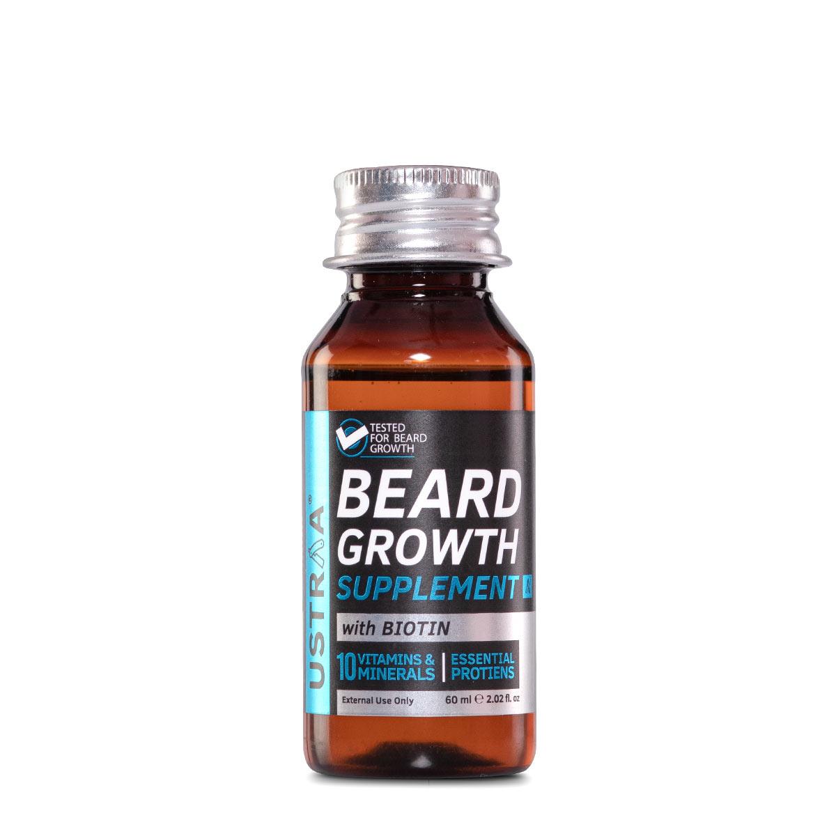Ustraa | Ustraa Beard Growth Supplement-60ml