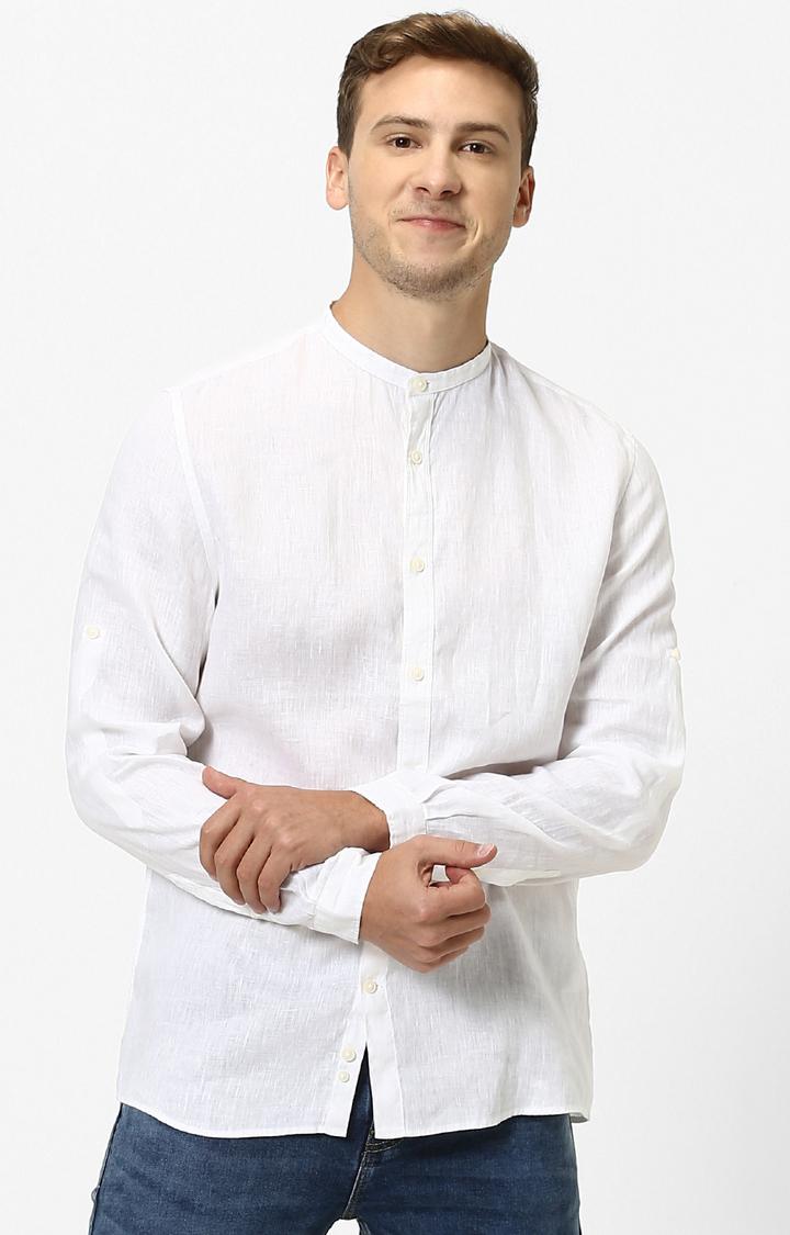 celio | celio White Casual Shirt