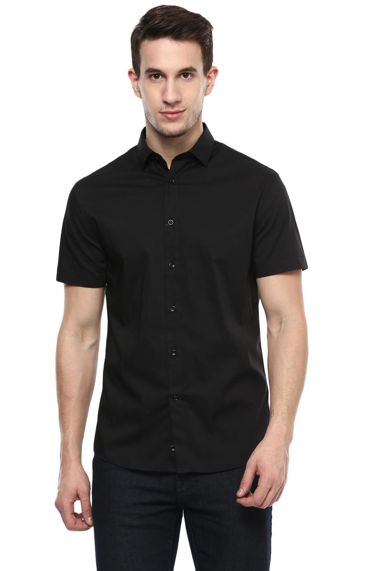 celio   celio Black T-Shirt