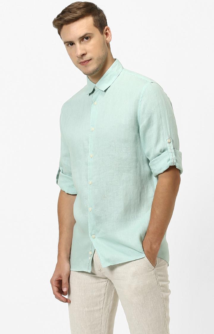 celio | celio Green Casual Shirt