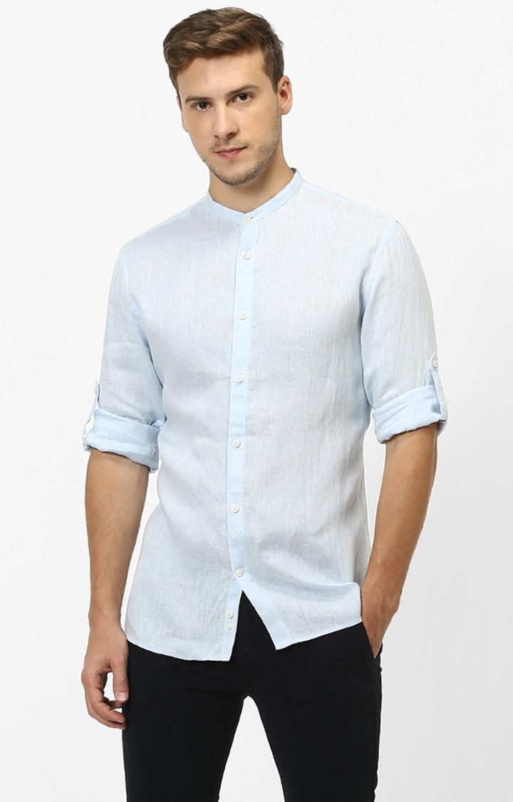 celio | celio Blue Casual Shirt