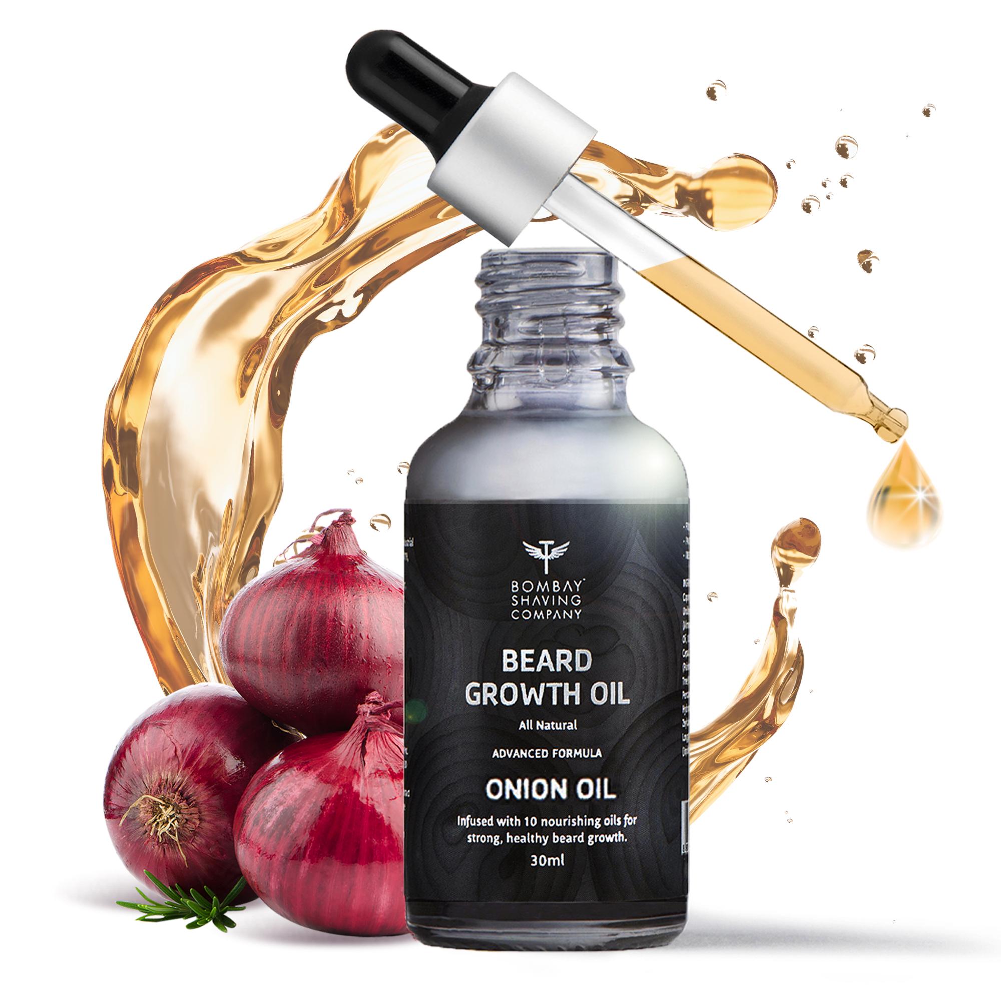 Bombay Shaving Company    Beard Growth Onion Oil-30 ml