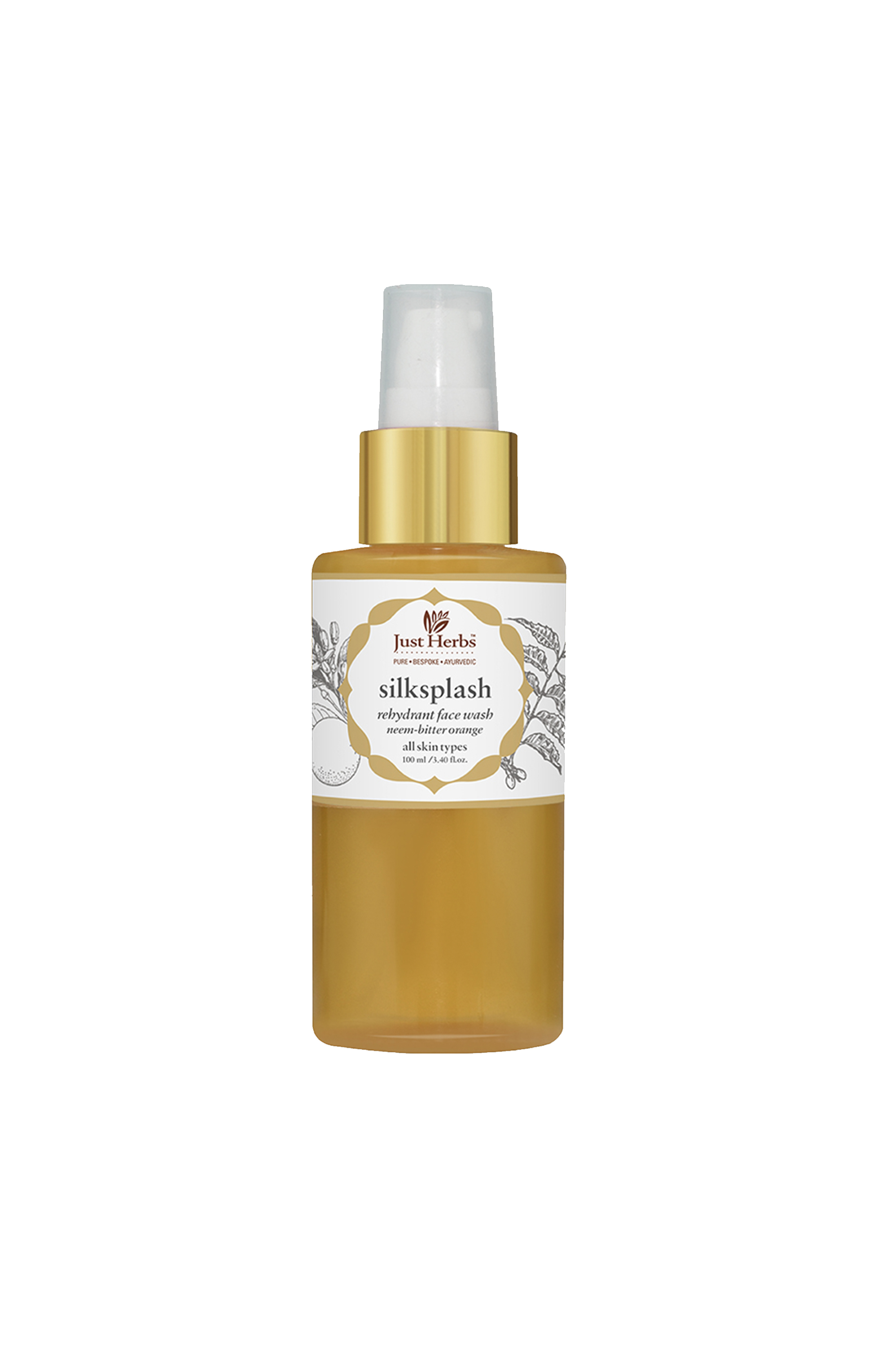 Just Herbs | Silksplash Rehydrant Face Wash 100ml