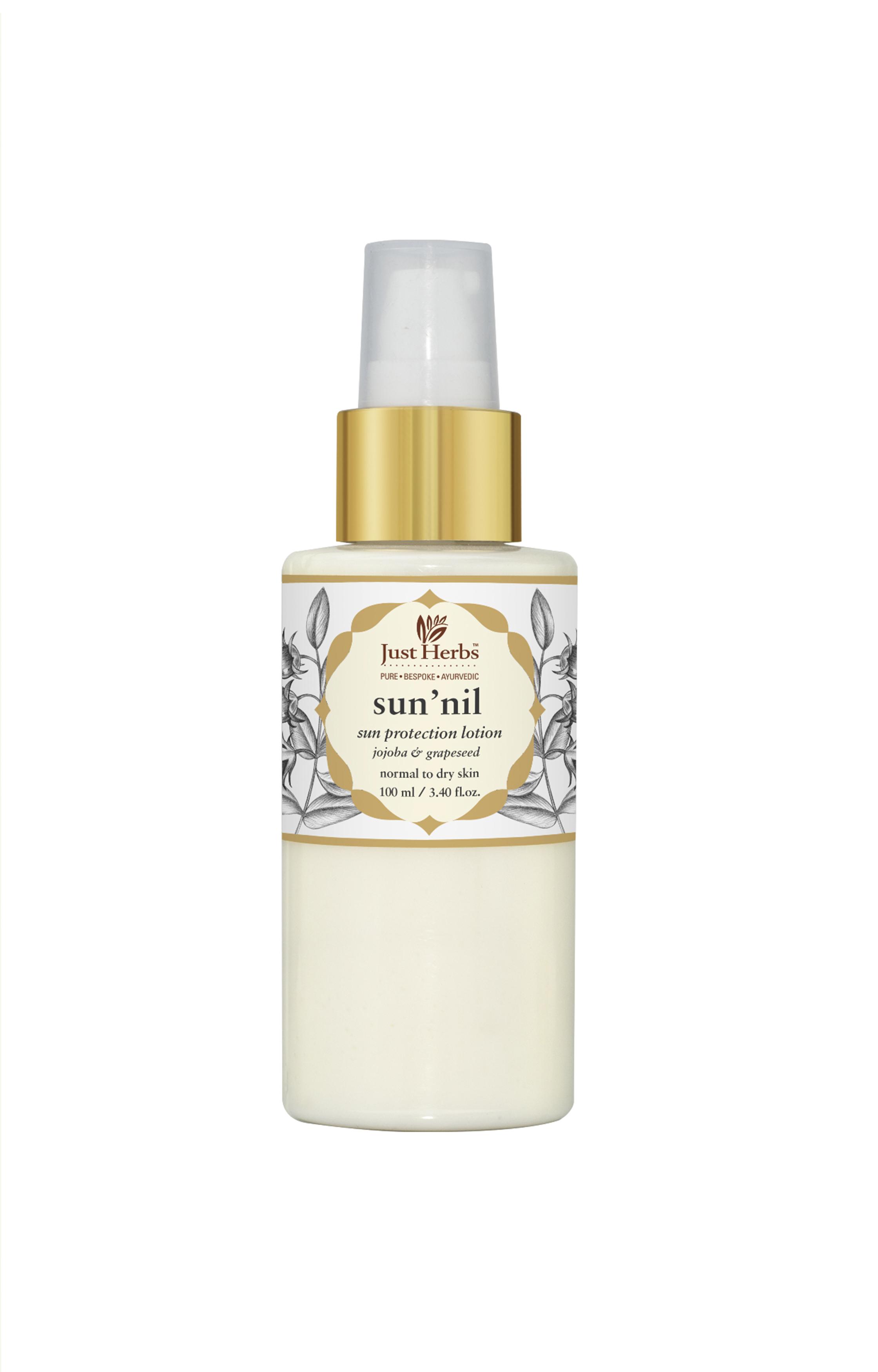 Just Herbs | Sun'nil Jojoba-Grapeseed Moisturising Sun Protection Lotion