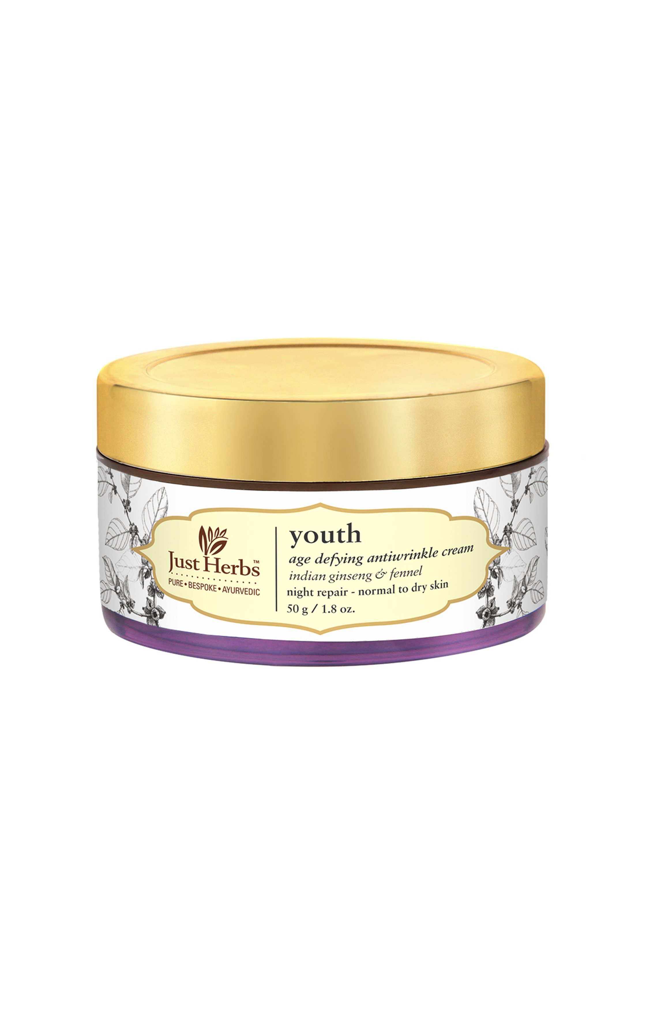 Just Herbs | Youth Antiwrinkle Cream