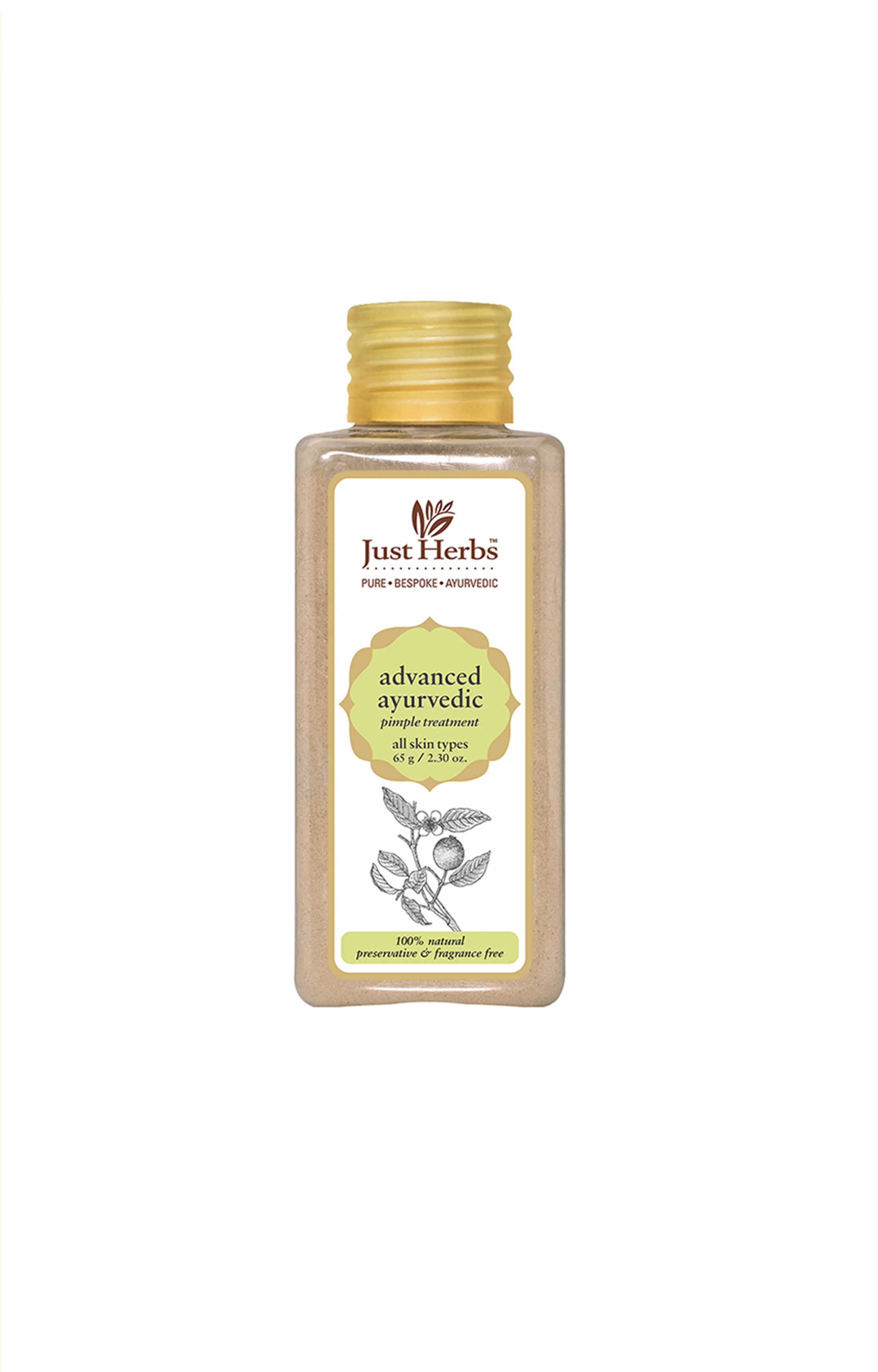 Just Herbs | Advanced Ayurvedic Pimple Treatment