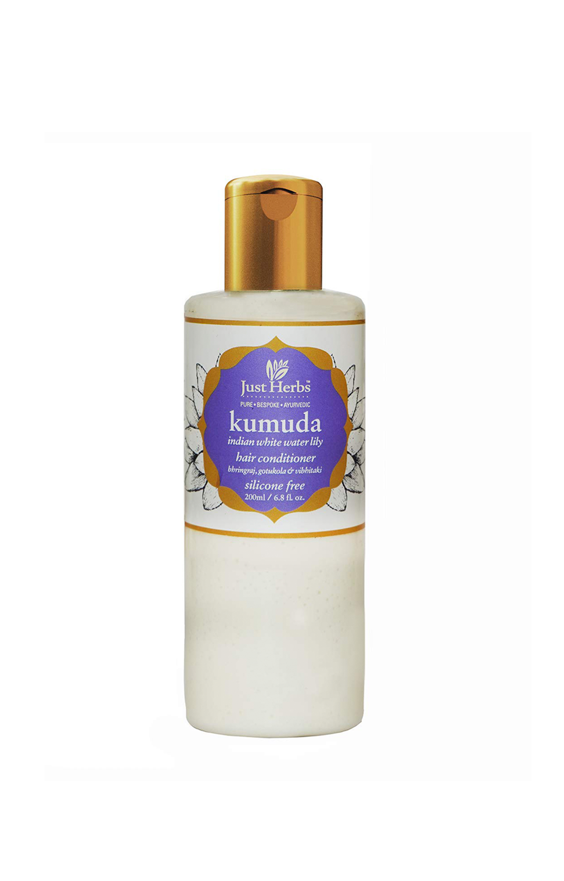 Just Herbs | Kumuda - Indian White Water Lily Silicone-Free Conditioner