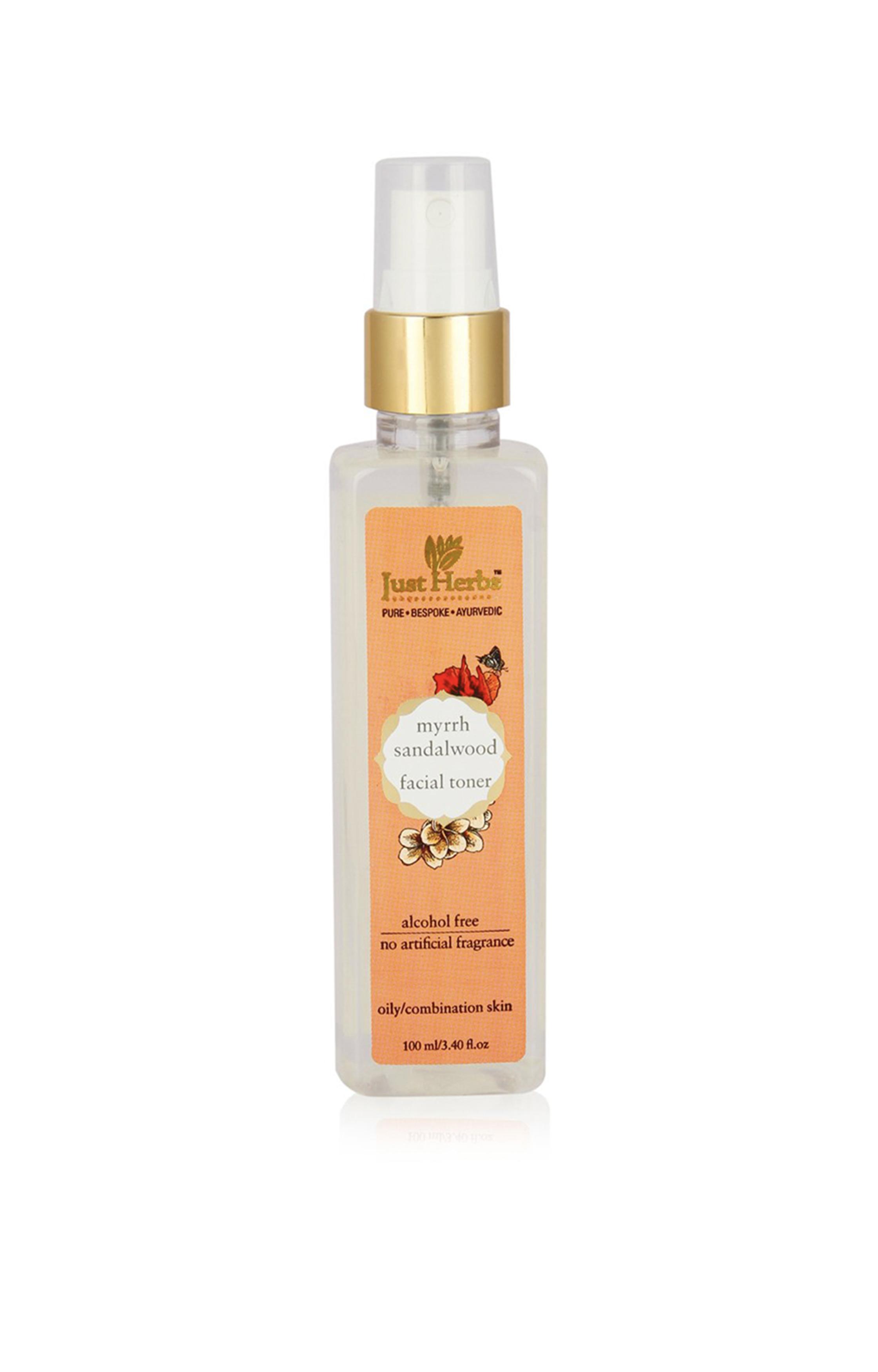 Just Herbs   Myrrh Sandalwood Restorative Tonique (oily/combination skin)