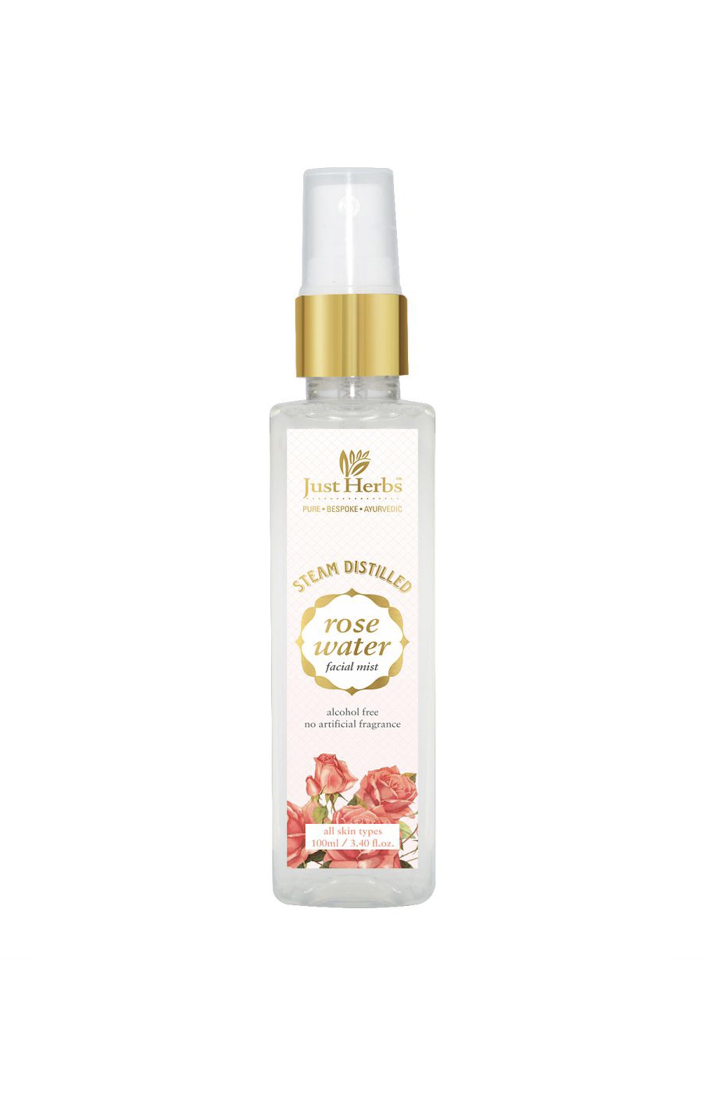 Just Herbs | Steam Distilled Rose Water Facial Mist