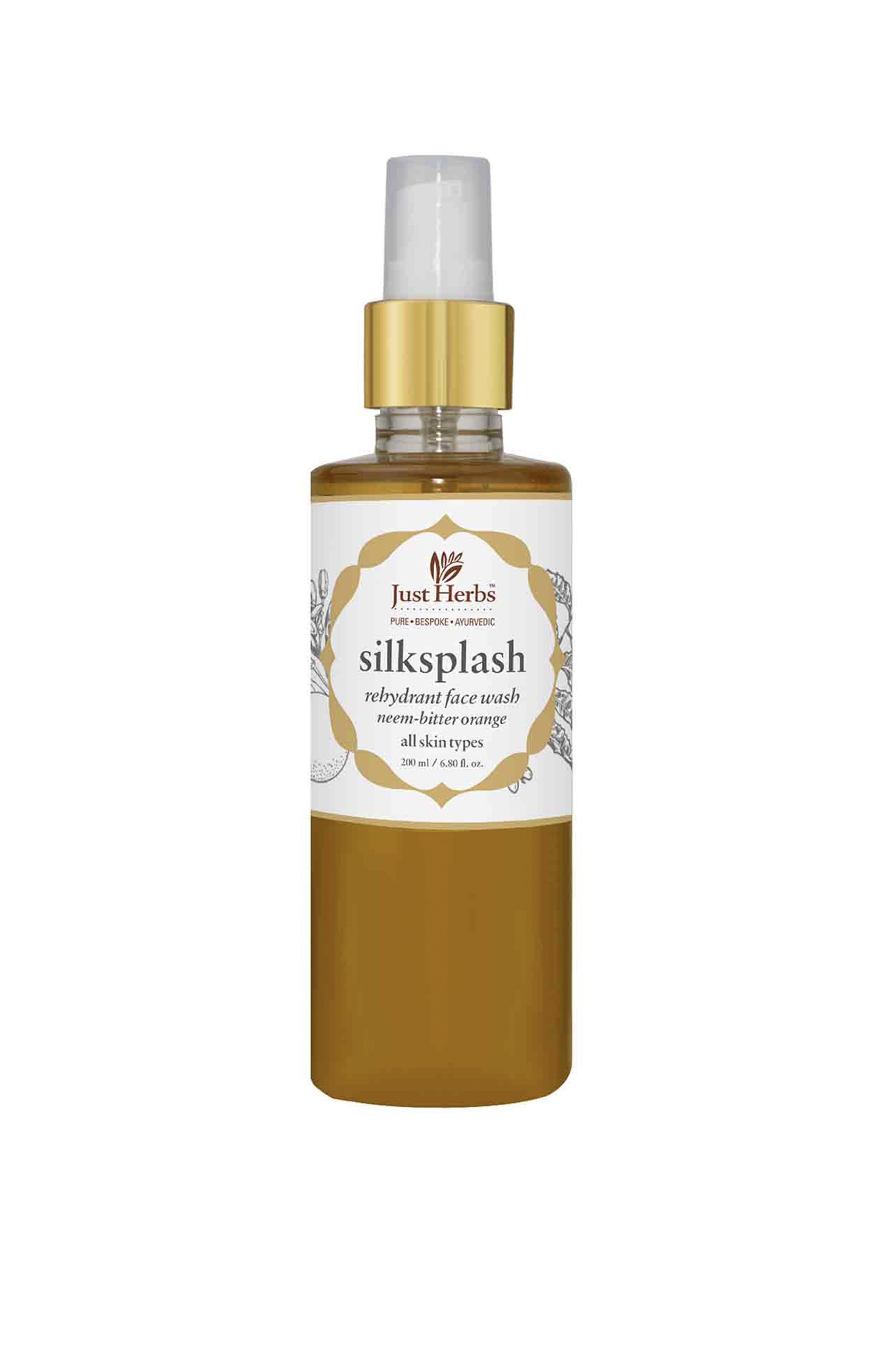 Just Herbs | Silksplash Rehydrant Face Wash 200ml