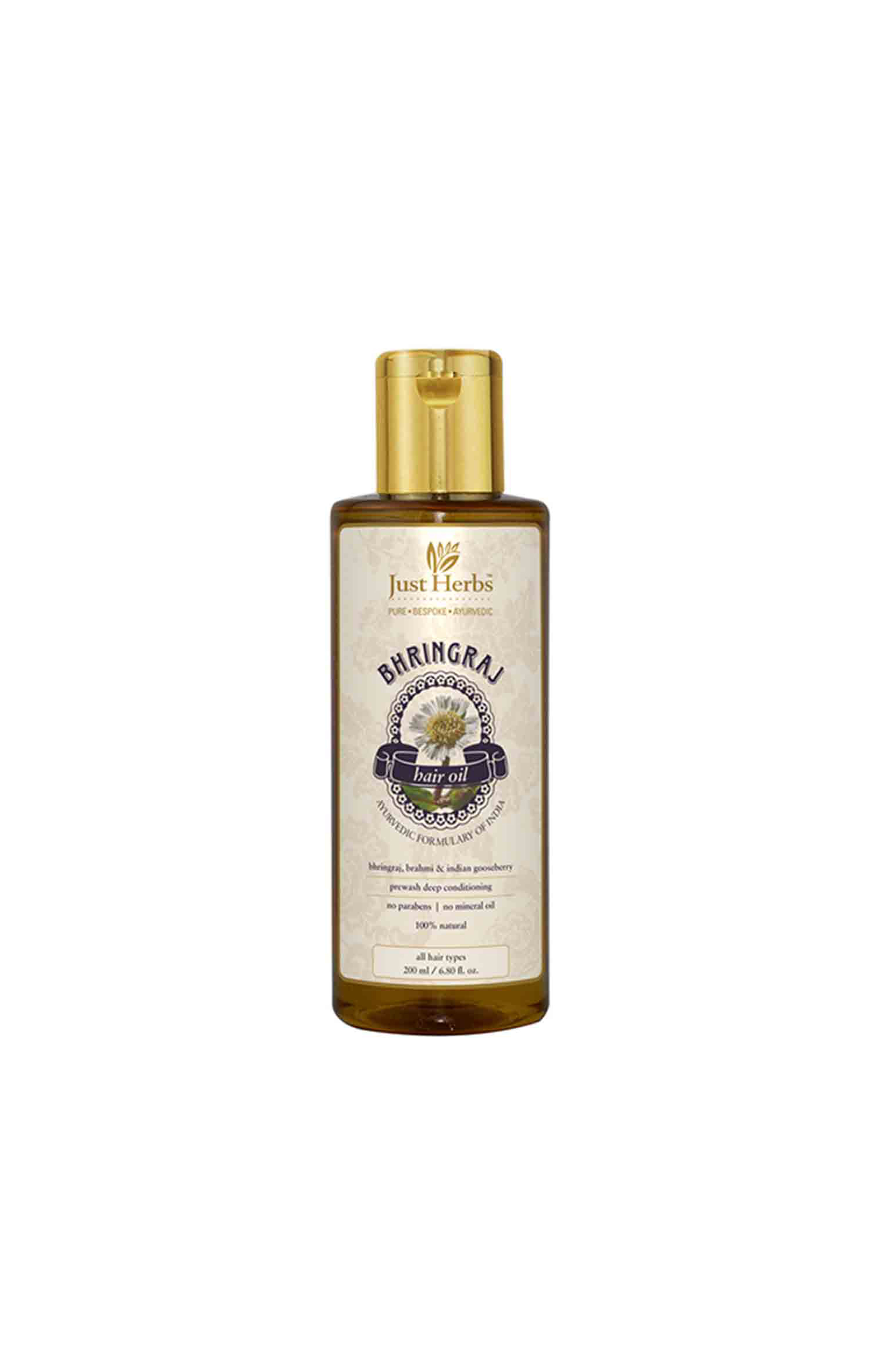 Just Herbs | Bhringraj Tail - 200 ml