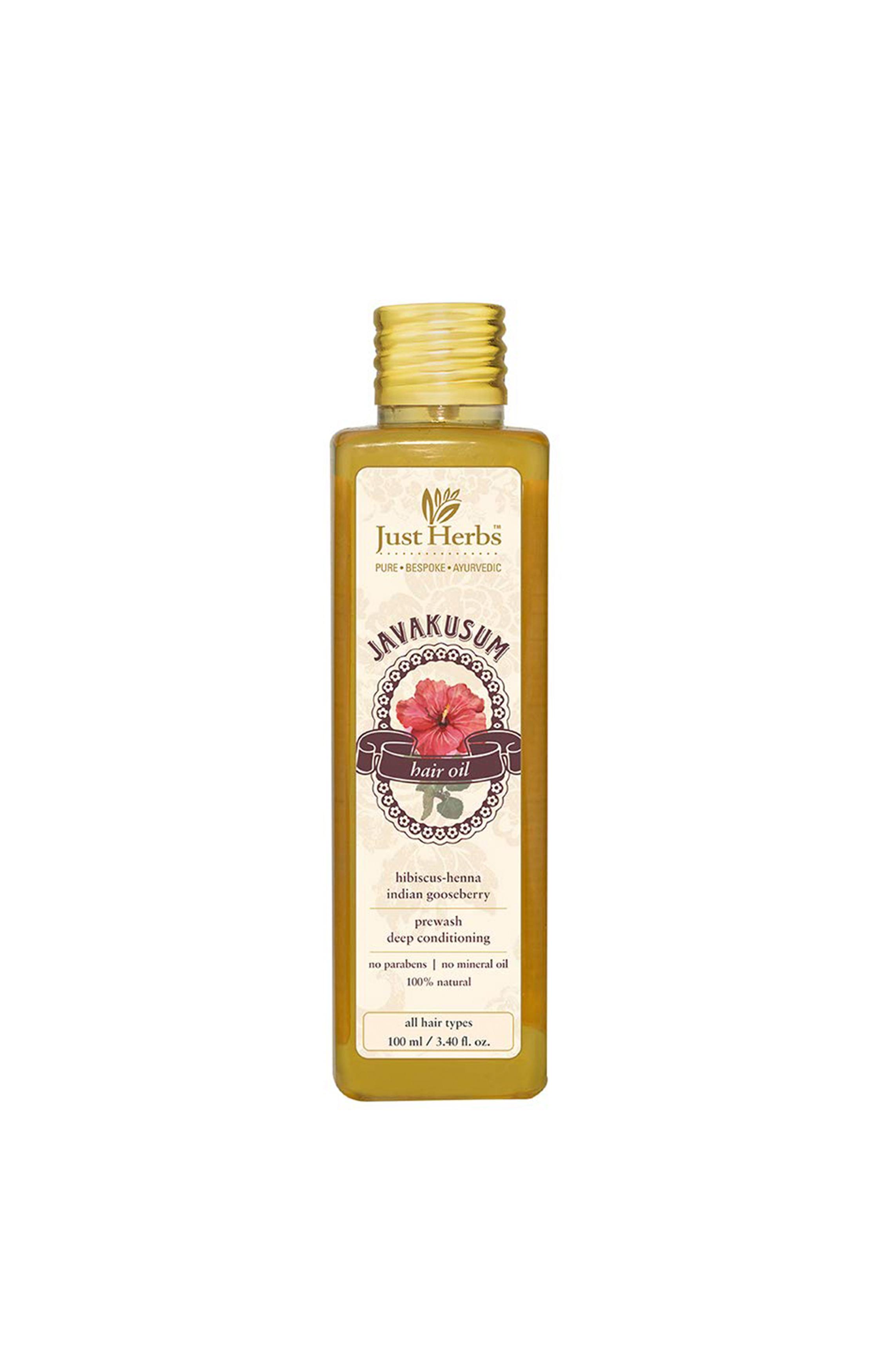 Just Herbs | Javakusum Hair Oil - 200 ml