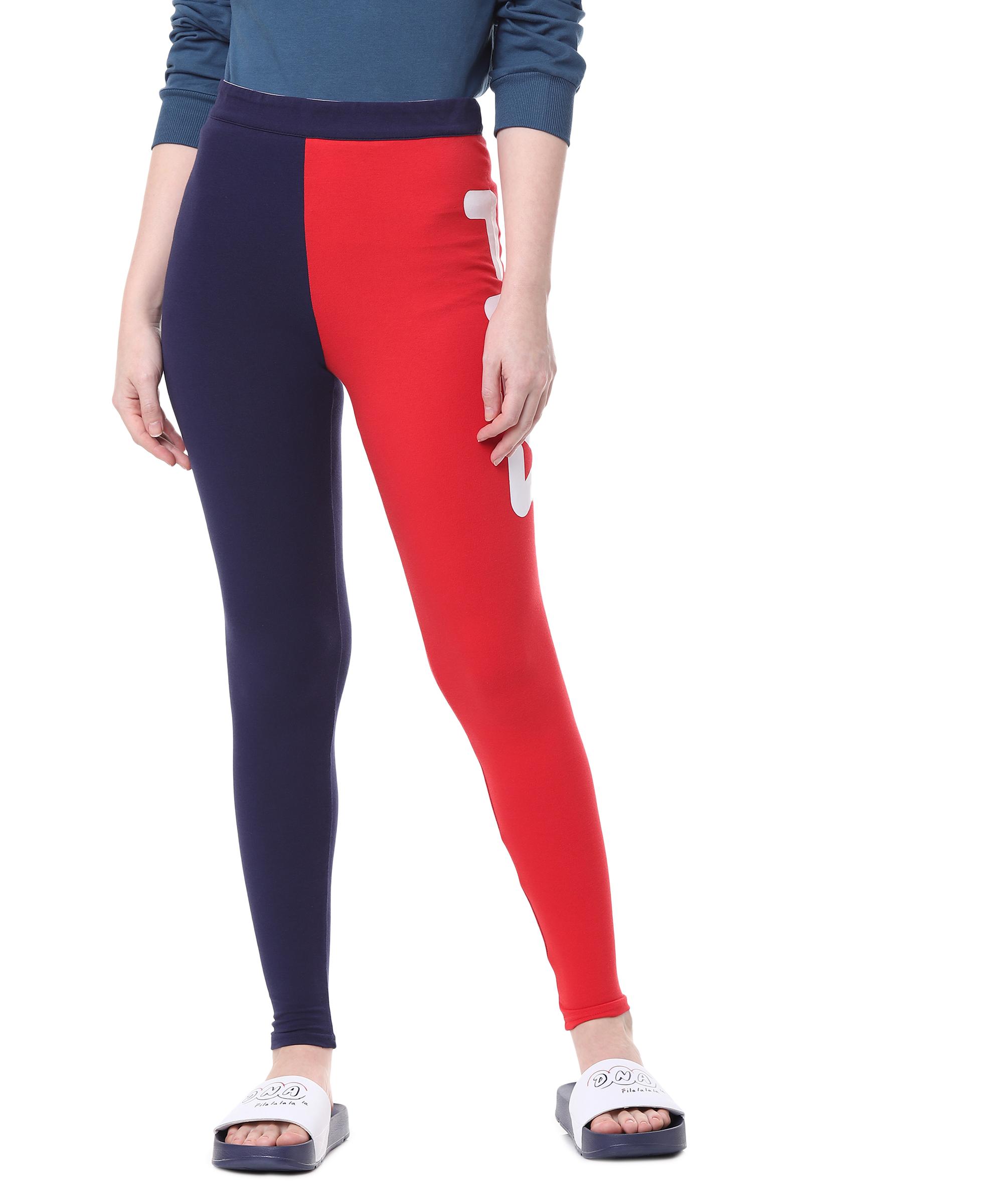 FILA | Blue Activewear Leggings