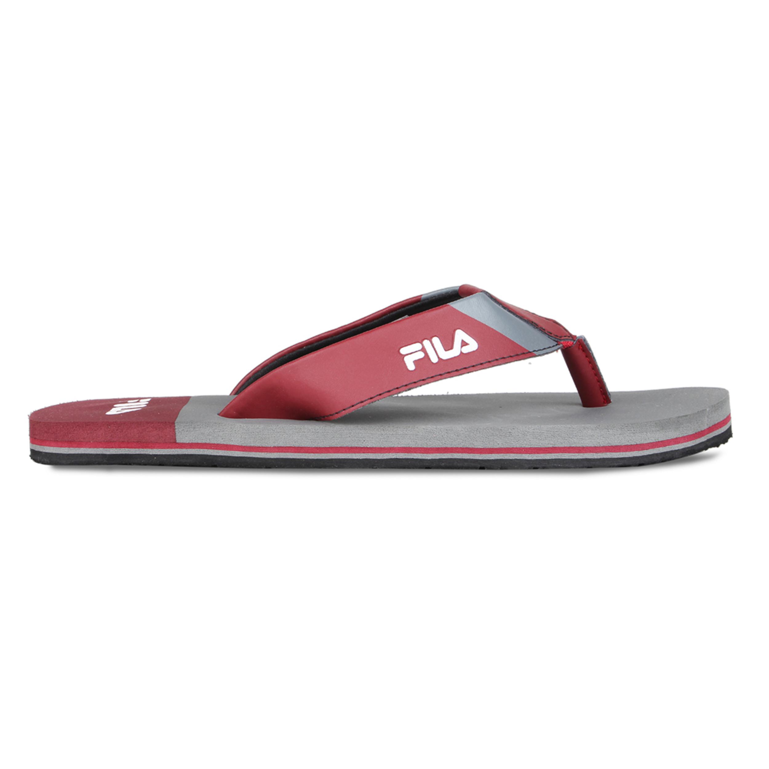 FILA   Grey Slippers