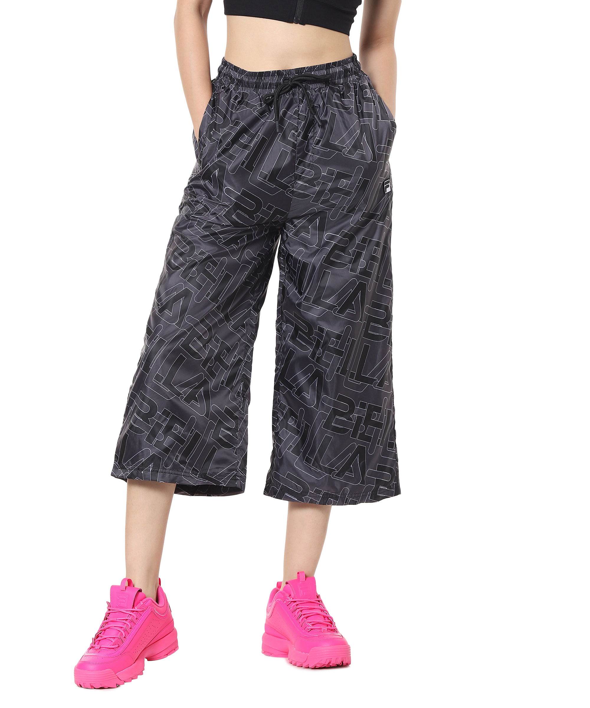 FILA | Black Trackpants