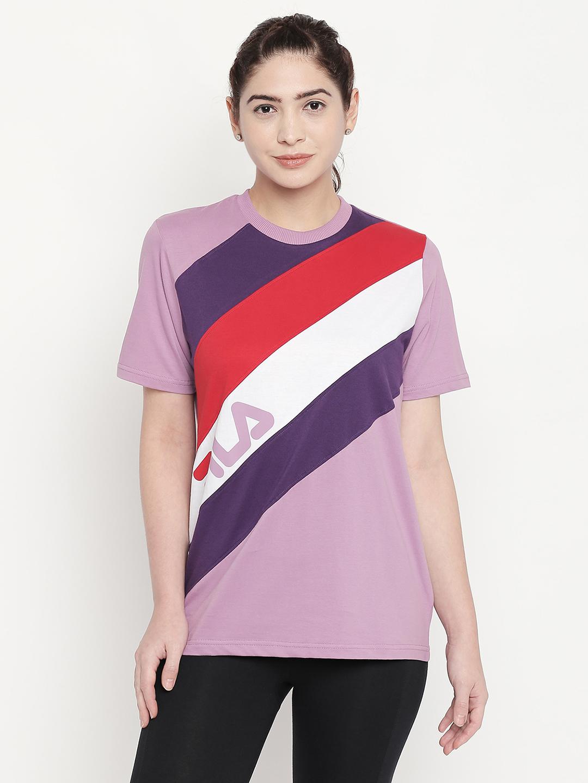 FILA | Purple T-Shirts