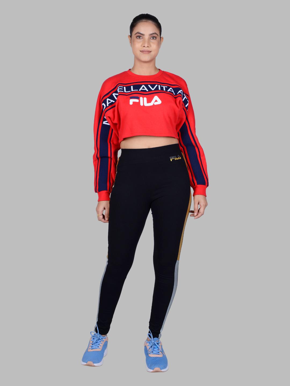 FILA | Red Sweatshirts