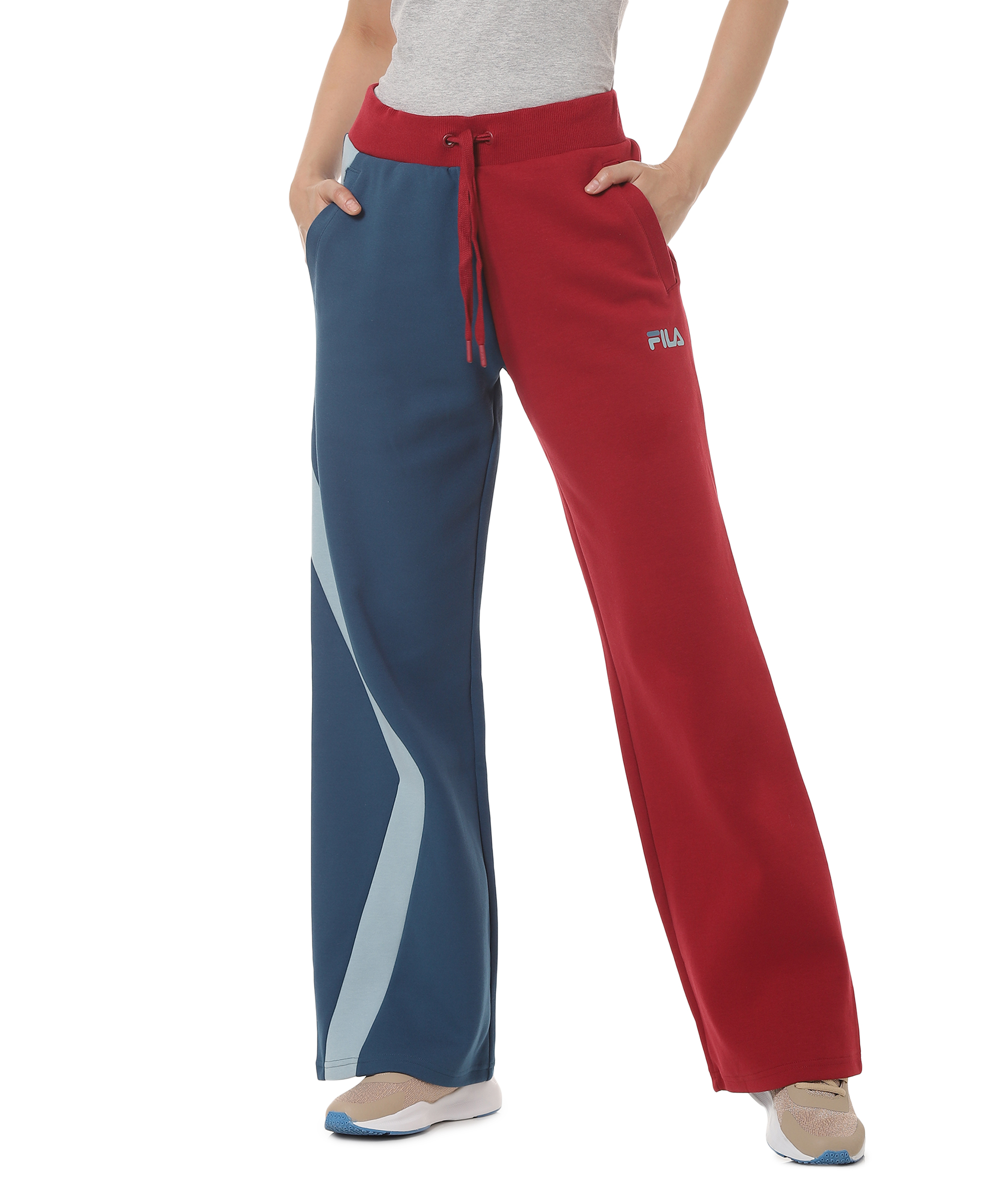 FILA | Red Trackpants