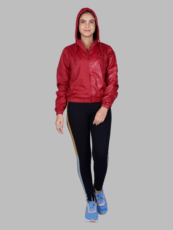FILA   Red Activewear Jackets