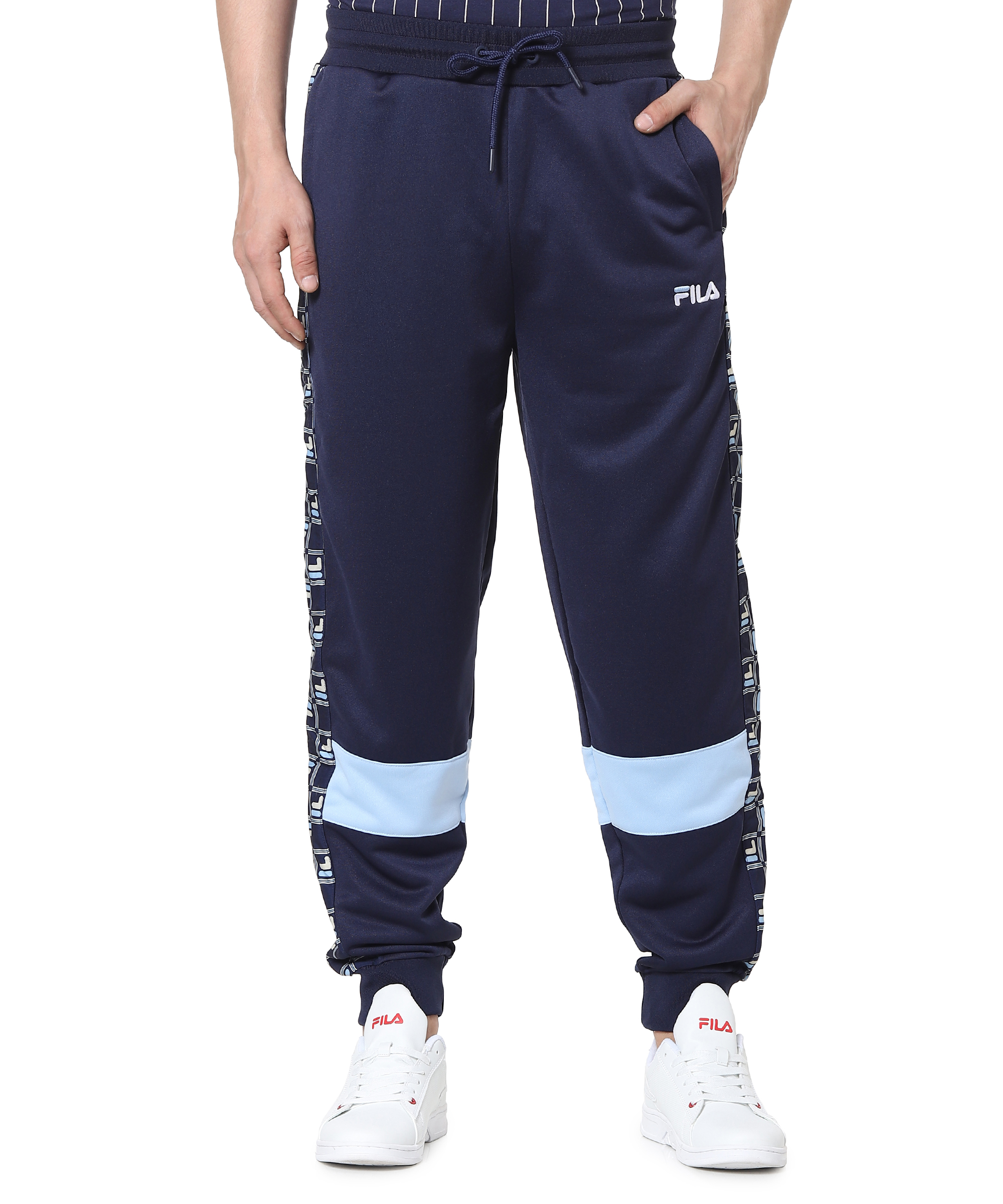 FILA   Blue Trackpants