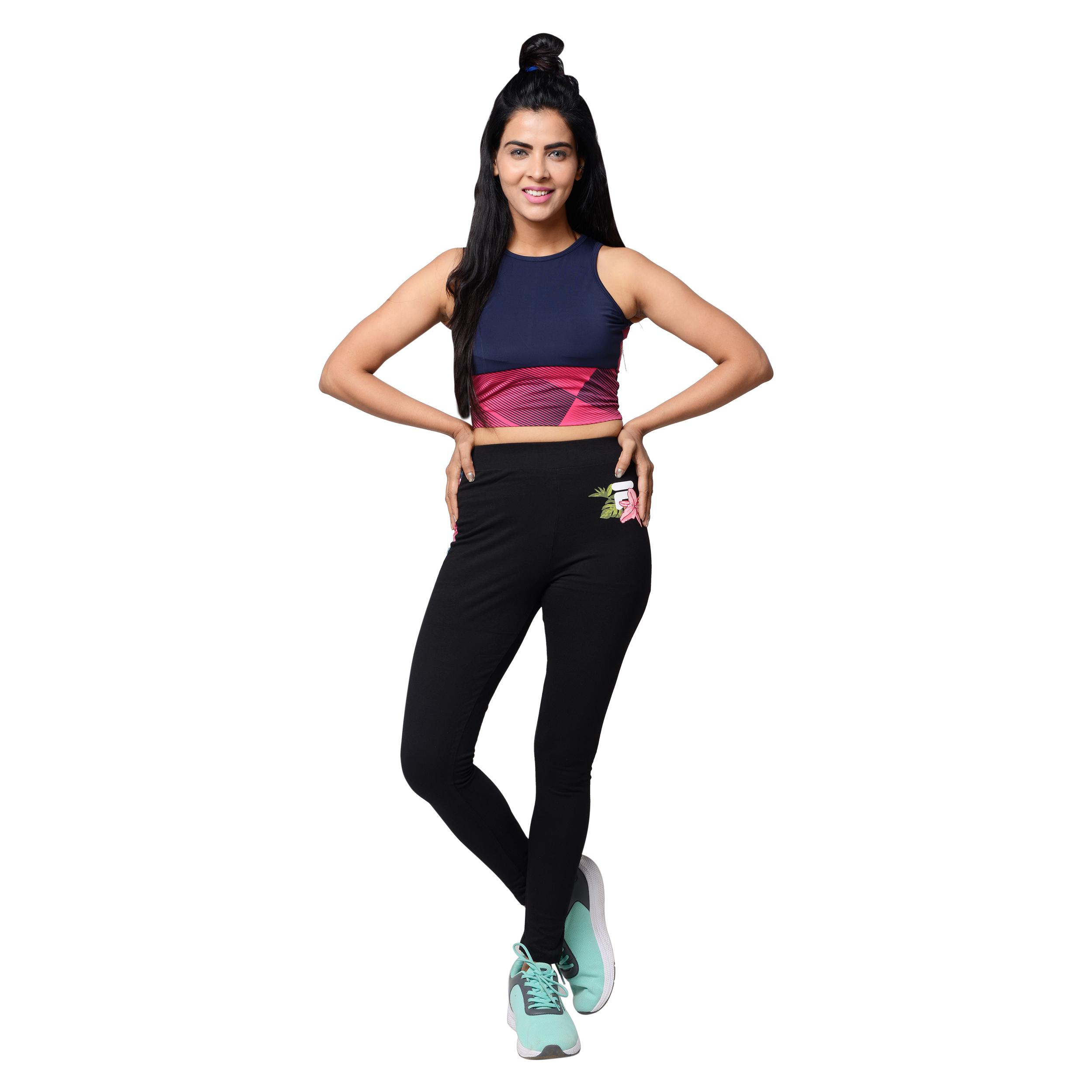 FILA | Black Activewear Leggings