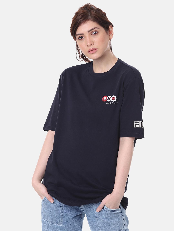 FILA | Blue Unisex T-Shirts