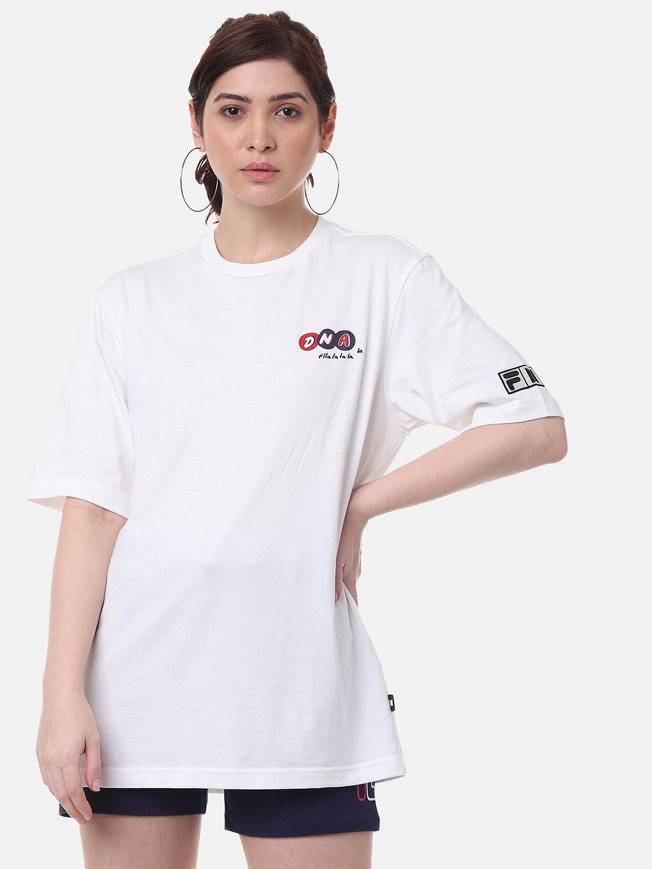 FILA | White Unisex T-Shirts