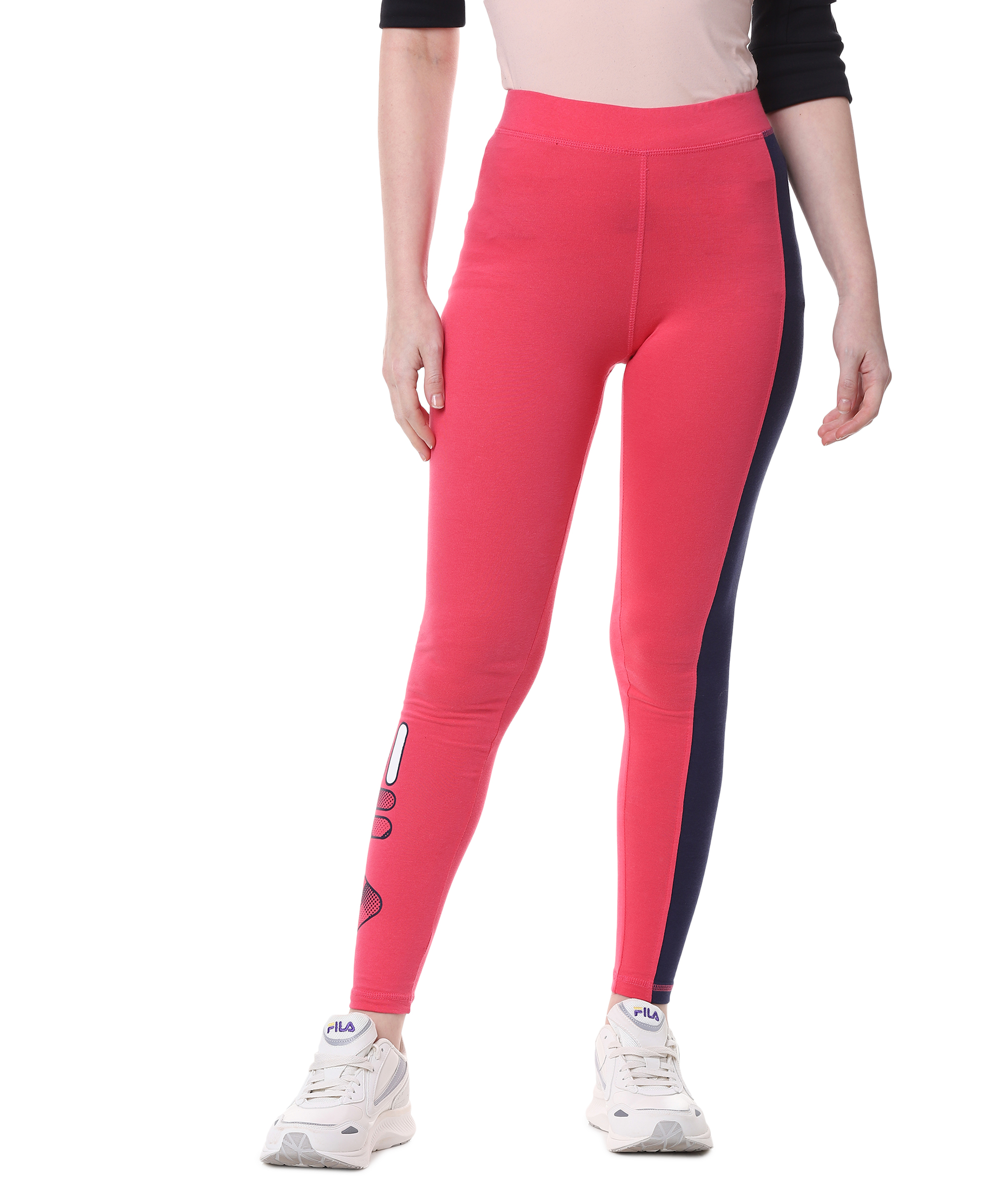 FILA | Red Activewear Leggings