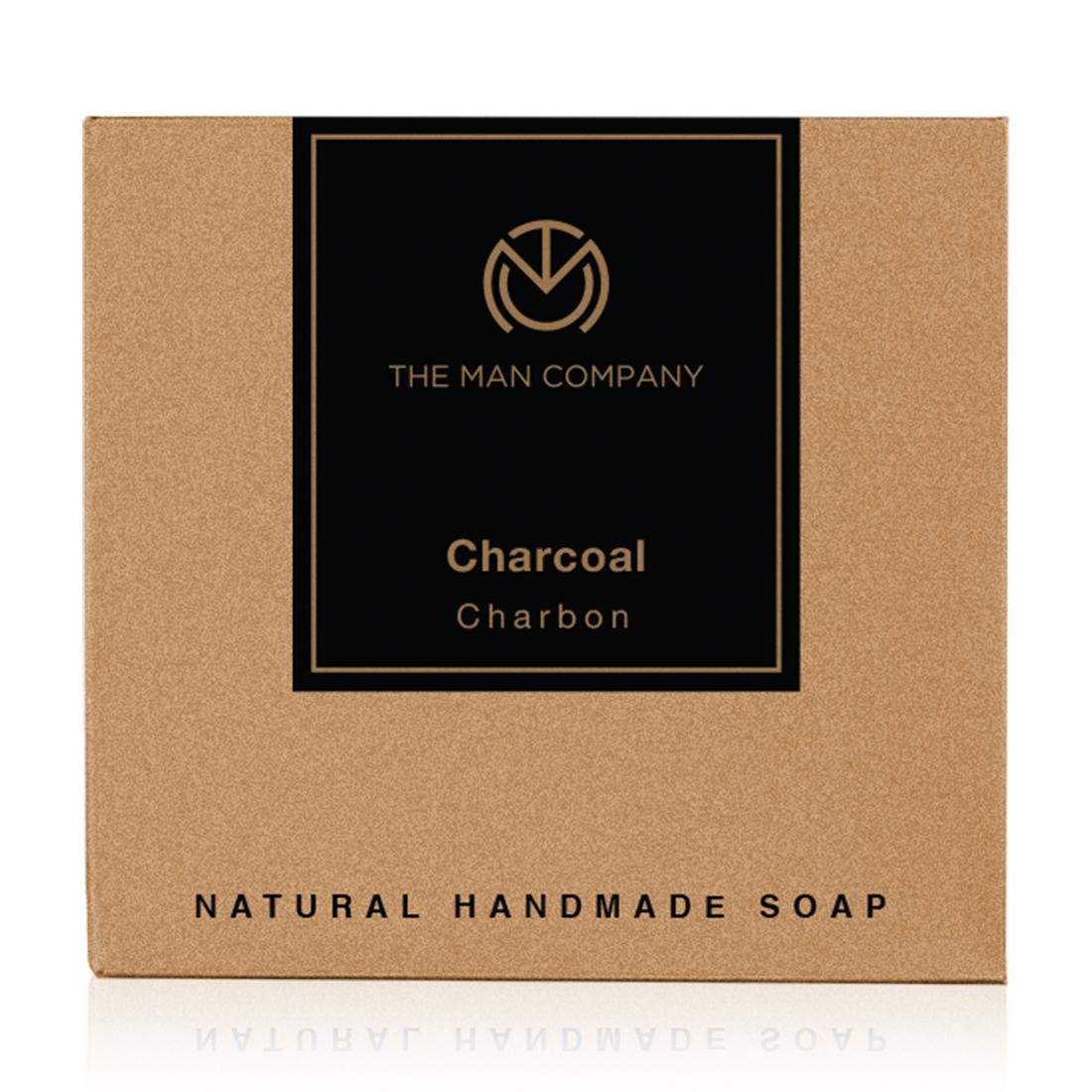 The Man Company | The Man Company Charcoal Soap Bar Black 125g