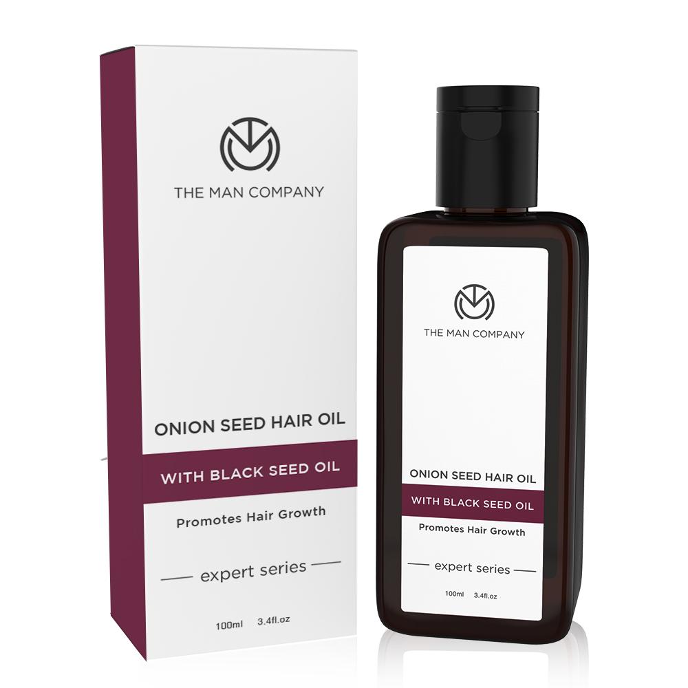 The Man Company | The Man Company Onion Hair Oil with 10 essential oils for Hair Growth & Hair fall control Hair Oil