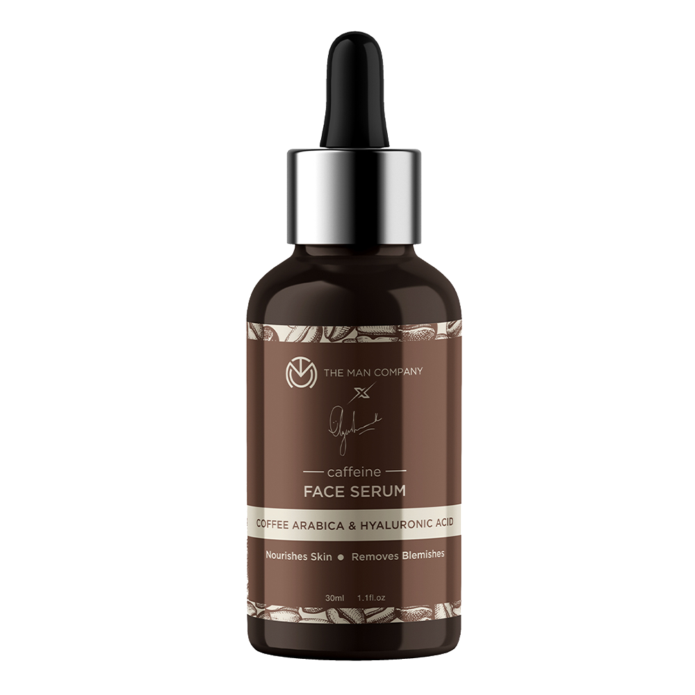 The Man Company | Caffeine Face Serum by Ayushmann Khurrana with Coffee Arabica and Hyaluronic Acid