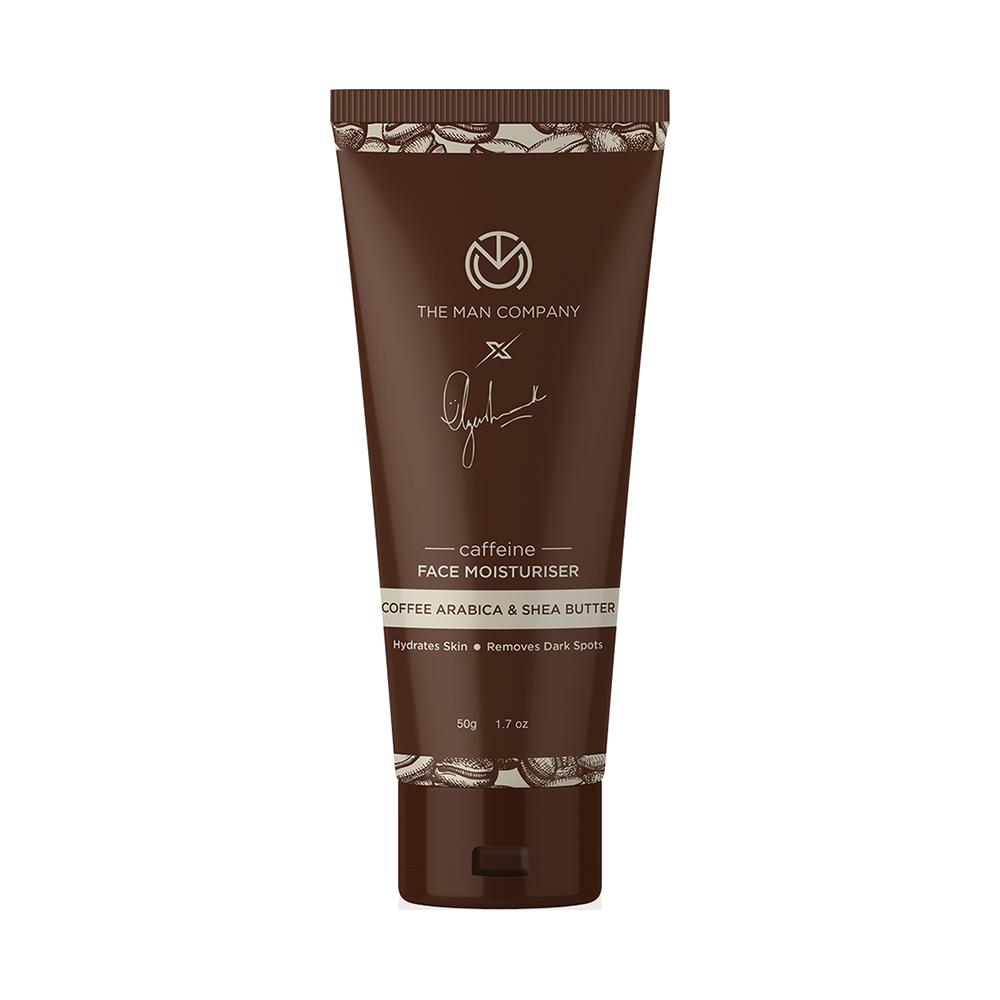 The Man Company | Caffeine Moisturiser by Ayushmann Khurrana with Coffee Arabica and Shea Butter
