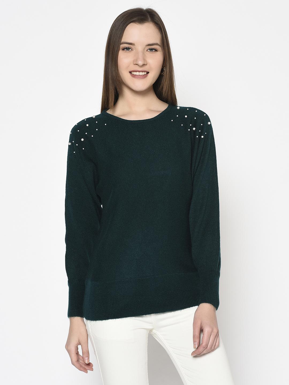 METTLE | WOMEN'S TEAL Sweaters