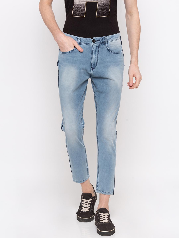 Spykar | Spykar Light Blue Solid Slim Fit Jeans