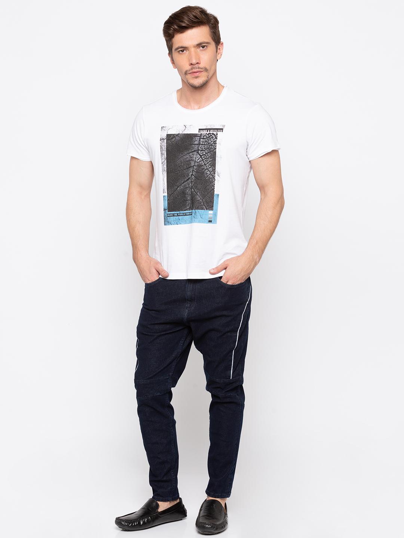 Spykar | Spykar Navy Solid Skinny Fit Jeans