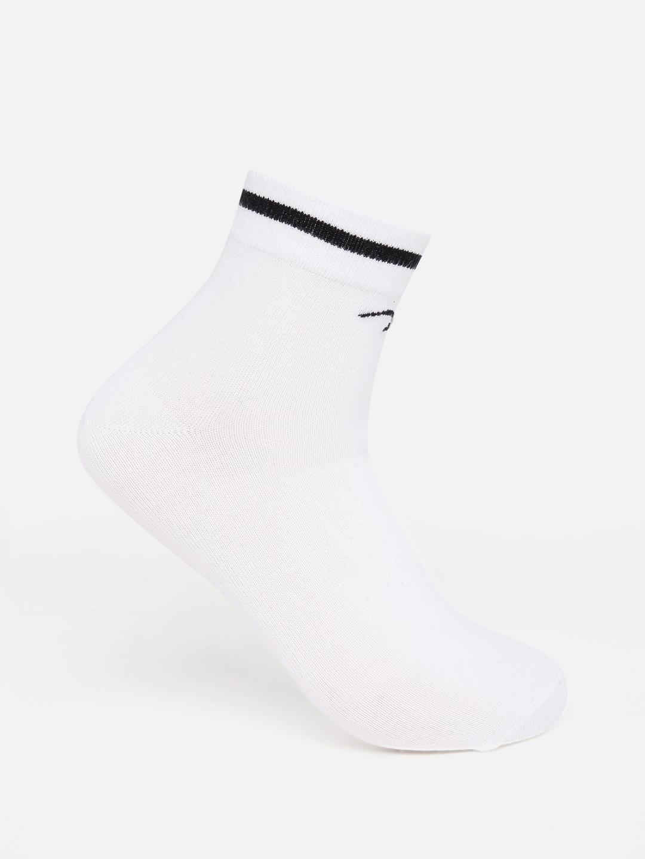 Spykar   Spykar Black & White Solid Ankle length Socks
