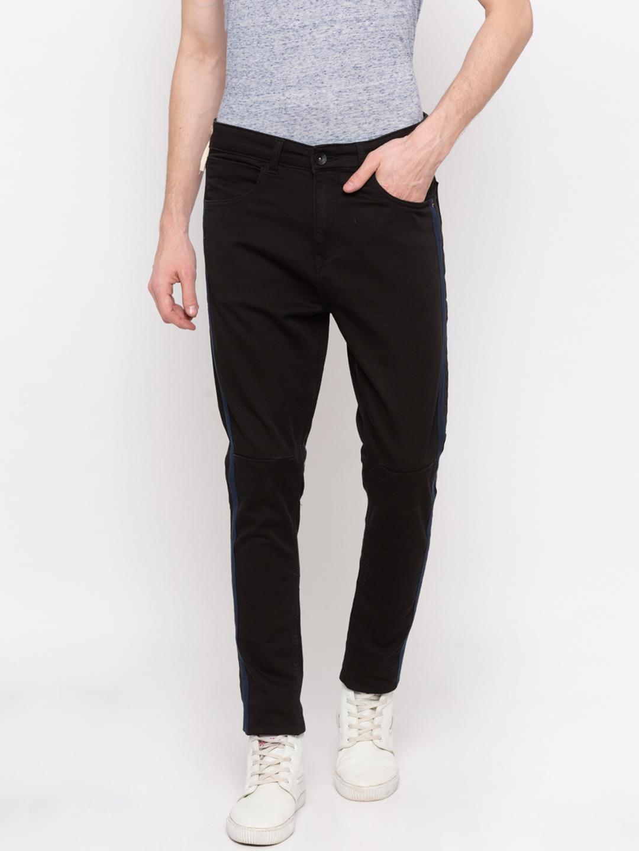 Spykar | Spykar Black Solid GYMJNS Fit Jeans