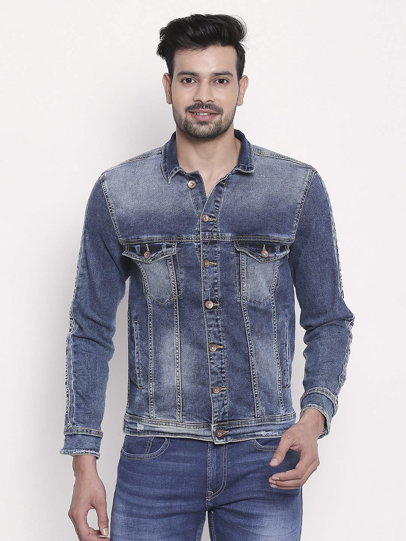 Spykar | Mid Blue Faded Denim Jacket