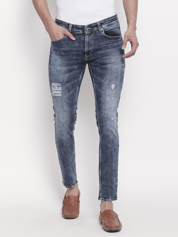 Spykar | Low-rise Waist Mid Blue Skinny Fit Jeans