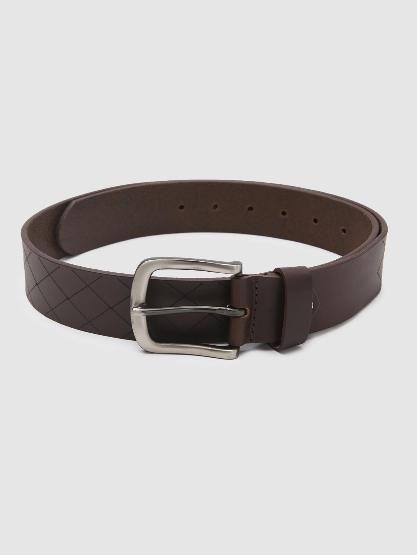 Spykar | Spykar Brown Leather Belts